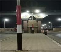 تزين مدخل قرية «البرجاية» بالمنيا بلون علم مصر