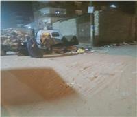 رفع 480 طن مخلفات وقمامة من شوارع المنيا