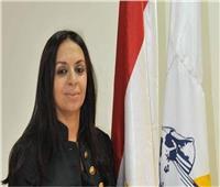 الدكتورة مايا مرسى رئيس المجلس القومى للمرأة تهنئ الفنانة أمينة خليل