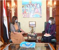 وزيرة الهجرة تستقبل المُنسق المقيم للأمم المتحدة بمصر لبحث التعاون وتبادل الخبرات