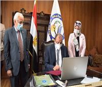 بروتوكول تعاون بين جامعة بني سويف والمركز الإقليمي لعلوم وتكنولوجيا الفضاء