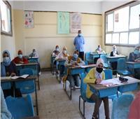 انتهاء امتحان الهندسة لطلاب الشهادة الإعدادية بالقاهرة