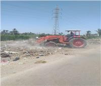 «الفيوم»: رفع 87 ألف طن قمامة بمراكز وقرى المحافظة