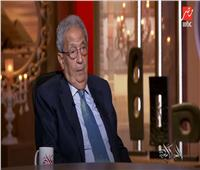 """عمرو موسي عن أزمة سد لنهضة """" آخر الدواء الكي""""  فيديو"""