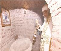 البابا يصلي في «أبوسرجة».. و٤ وزراء في الكاتدرائية