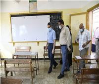 محافظ الغربية يطمئن على جاهزية المدارس لاستقبال امتحانات الشهادة الإعدادية 