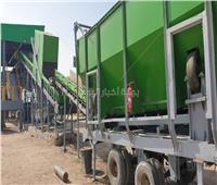 إعادة تأهيل ورفع الطاقة التصميمية لمصانع تدوير المخلفات بأجا