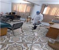 شمال سيناء تواصل حملة التطهير والتعقيم لمواجهة الموجة الثالثة
