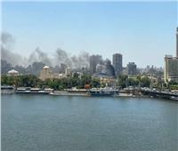 السيطرة على حريق بمدرج التتش في الأهلي