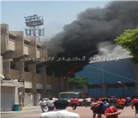 النيابة تنتقل لمعاينة حريق داخل نادي الأهلي بالجزيرة