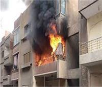 مصرع شاب في حريق شقة سكنية بعين شمس