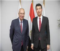 السفير الكوري يبحث مع رئيس الهيئة الاقتصادية لقناة السويس تعزيز الاستثمارات