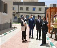 نائب محافظ الوادي الجديد تتفقد العمل بمركز «حسن حلمي»