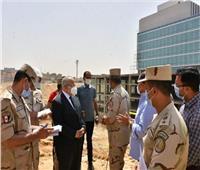 رئيسا الهيئة الهندسية وجامعة القاهرة يتفقدان المعهد القومي للأورام بزايد