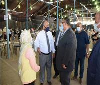 نائب رئيس جامعة عين شمس يطمئن على انتظام سير امتحانات كلية الزراعة