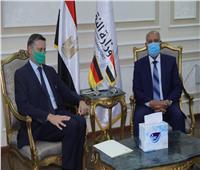 تعاون «مصري - ألماني» في مجالات السكة الحديد ومترو الأنفاق والجر الكهربائي