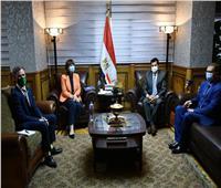 وزير الشباب والرياضة يلتقي بالممثل المقيم للأمم المتحدة في مصر