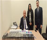 ضبط راكب حاول تهريب 50 هاتف «iPhone» بمطار القاهرة
