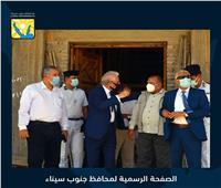 «فودة» يتفقد مسجد الروضة وحمام موسى بمدينة طور سيناء