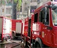 السيطرة على حريق أعلى سطح عقار بأكتوبر
