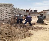 تأهيل ترعةالحوشة بطول 7.775 كم بمدينة الطود