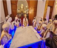 البابا تواضروس يدشن 3 مذابح بدير القديس الأنبا توماس بالخطاطبة