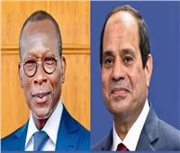 """الرئيس السيسي: مصر حريصة على التعاون مع """"بنين"""" في مختلف المجالات"""