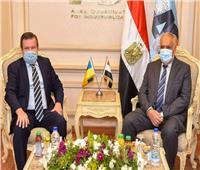رئيس «العربية للتصنيع» يبحث مع سفير أوكرانيا تعزيز التعاون بشتى المجالات