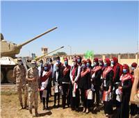 المنطقة الغربية العسكرية تستقبل وفدا من جامعة مرسى مطروح