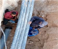 إنهاء أزمة انقطاع المياه بمنطقة شرق مطروح
