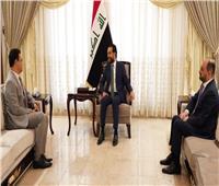 رئيس مجلس النواب العراقي يستقبل السفير المصري الجديد