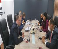 «المشاط» تبحث مع رئيس شركة السكك الحديدية الروسية مشروعات النقل المشتركة