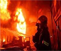 وزيرة التضامن وقيادات أمن القاهرة في موقع حريق المؤسسة العقابية بالمرج