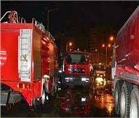 الدفع بـ12 سيارة إطفاء للسيطرة على حريقالمؤسسة العقابية بالمرج