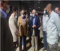 جولة لمحافظ الجيزة بشارع النيل لمتابعة نسب تنفيذ أعمال التطوير  صور