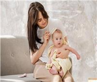10 طرق للعناية بشعر طفلك الرضيع