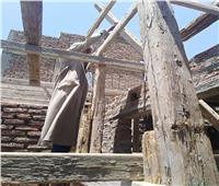إيقاف أعمال بناء مخالف خلف مخازن الآثار بمدينة الأقصر