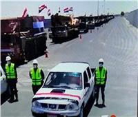 معدات هندسية وأطقم فنية مصرية لإزالة الأنقاض بقطاع غزة   فيديو