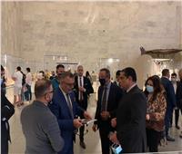متحف الحضارة بالفسطاط يستقبل مشاهير العراق  صور