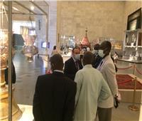 متحف الحضارة يستقبل رئيس جامعة السودان   صور