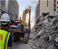 شركة «مصر سيناء» ترسل معدات وأطقم هندسية وفنية لقطاع غزة للبدء في إعادة الإعمار