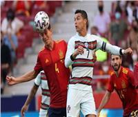 شاهد| العارضة تحرم إسبانيا من فوز قاتل على البرتغال استعدادًا لـ «يورو 2020»