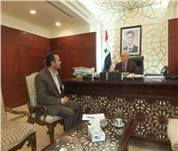 سفير سوريا بالقاهرة: المشاركون فى «الربيع العربى» ساهموا فى تنفيذ المؤامرة على المنطقة  حوار