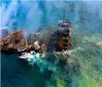 مقاضاة سريلانكا بسبب تسرب نفطي من غرق سفينة الحاويات