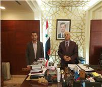 سفير دمشق بالقاهرة:إعادة إعمار سوريا تفتح الباب أمام الشركات المصرية
