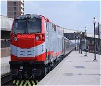 حركة القطارات   التأخيرات بين القاهرة والإسكندرية السبت