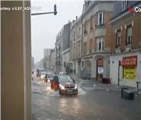 فيديو| ساعات من الأمطار الغزيرة تغرق عدة مدن فرنسية