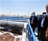 الحكومة: تكلفة محطة معالجة مياه الصرف الصناعي بالمنطقة الاقتصادية 250 مليون جنيه| صور وفيديو