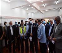 رئيس الوزراء يتفقد محطة الصرف الصناعي بالمنطقة الاقتصادية لقناة السويس.. صور