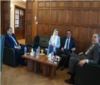 إنشاء قنوات تواصل للتعاون بين الغرفتين التجاريتين بمصر وليبيا